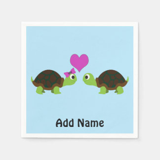 Turtle Love Paper Napkins
