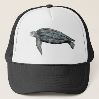 Turtle lute trucker hat