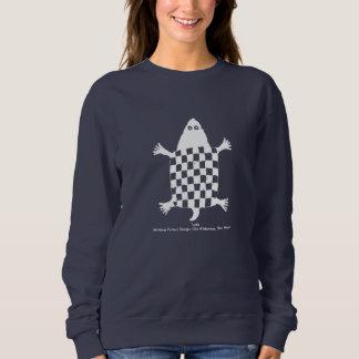Turtle, Mimbres Pottery Design Sweatshirt