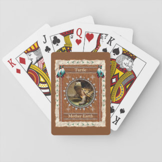 Turtle  -Mother Earth- Classic Playing Cards