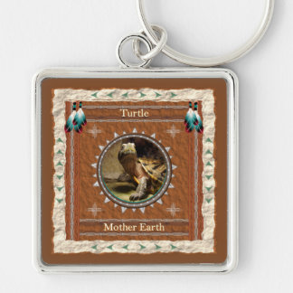 Turtle  -Mother Earth- Keychain