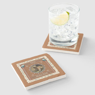 Turtle  -Mother Earth- Marble Coaster