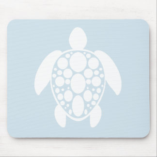 Turtle Mouse Pad - White