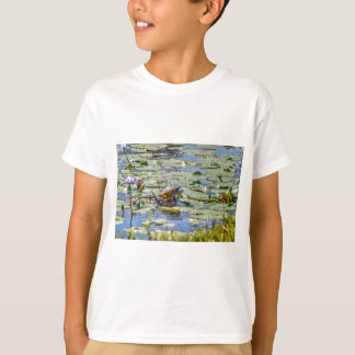 TURTLE ON LILLY PAD RURAL AUSTRALIA T-Shirt