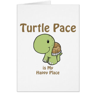 Turtle Pace Card
