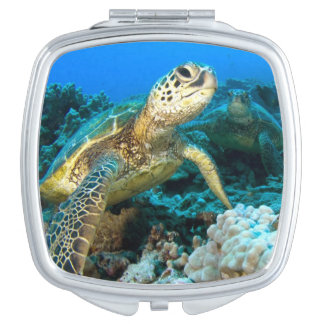 Turtle Pair Compact Mirrors