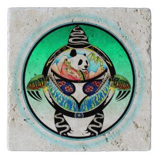 Turtle Panda Trivet