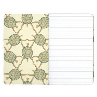 Turtle pattern journals