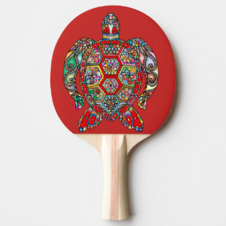 turtle ping pong paddle