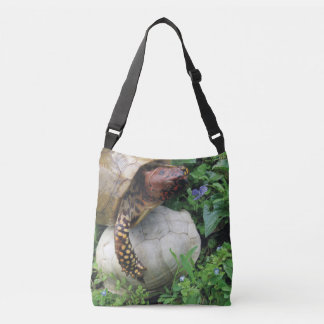 Turtle Protecting Turtle Shell Crossbody Bag