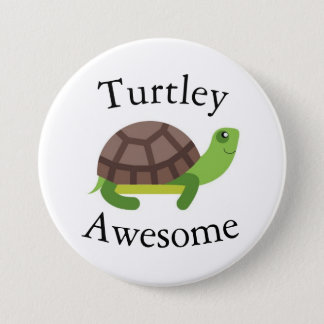 Turtle Pun Badge