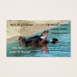 Turtle Random Acts of Kindness Card
