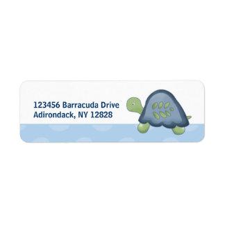 Turtle Reef Custom Address Labels