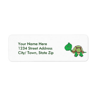 Turtle Return Address Labels