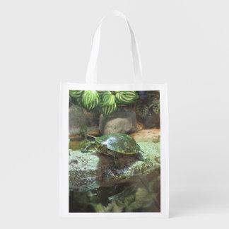 Turtle Reusable Grocery Bag