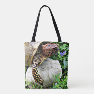 Turtle & Shell Tote Bag