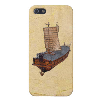 Turtle Ship iPhone 5C Hard Shell Case