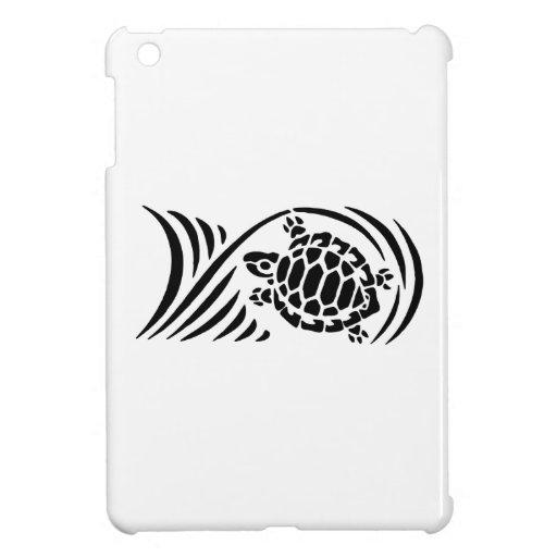 Turtle Silhouette iPad Mini Cases