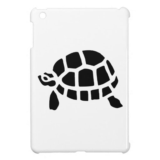 Turtle Silhouette iPad Mini Case