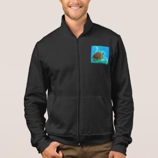 Turtle Swimming Mens Jacket