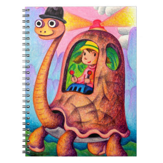 Turtle taxi notebook