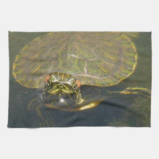 turtle tea towel