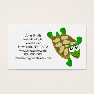 Turtle Testudinologist Business Card