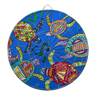 Turtle Time Dartboard