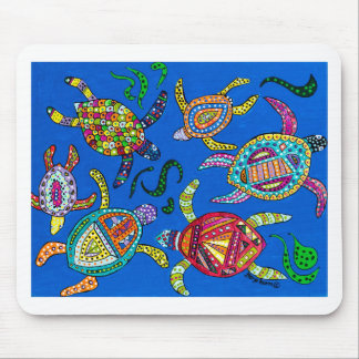 Turtle Time Mouse Pad