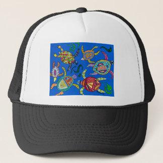 Turtle Time Trucker Hat