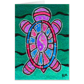 Turtle Totem Card