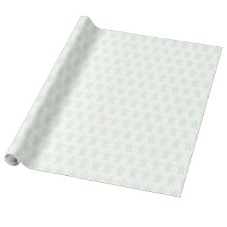 Turtle Tracer Wrapping Paper