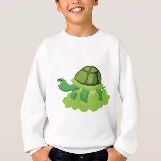 turtle walking in the grass sweatshirt