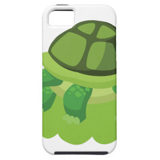 turtle walking in the grass tough iPhone 5 case