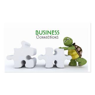 Turtle with Jigsaw Piece Business Card