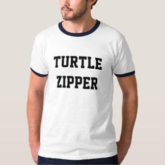Turtle Zipper Ringer Tee