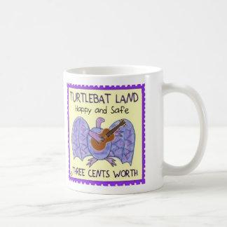 Turtlebat Land postage stamp  Mug