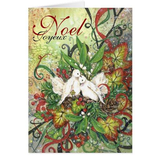 TurtleDoves & Deco  Christmas Card