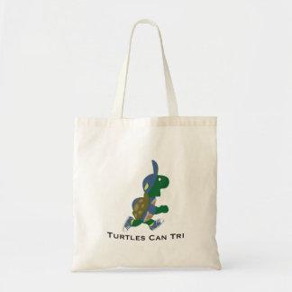 Turtles Can Tri Budget Tote Bag