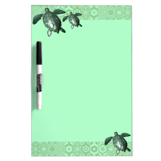 Turtles Dry Erase Board
