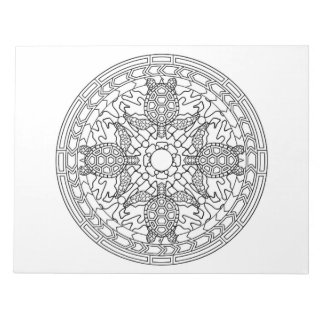 Turtles Mandala Coloring Book Pad