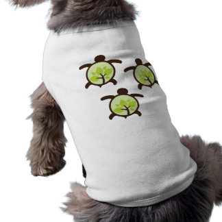 Turtles Organic Planet Dog T-Shirts