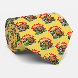 Turtley Awesome Tie
