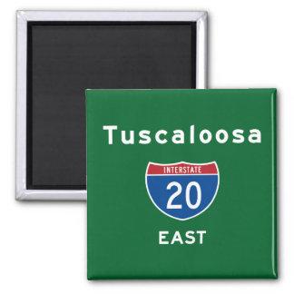 Tuscaloosa 20 magnet