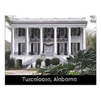 Tuscaloosa Alabama - postcard