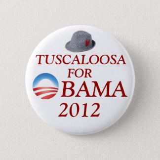 Tuscaloosa for Obama 6 Cm Round Badge