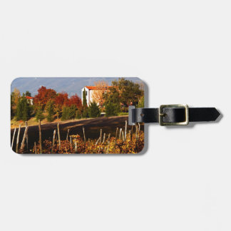 Tuscan Countryside Luggage Tag