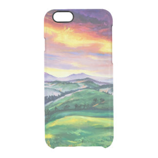 Tuscan landscape clear iPhone 6/6S case