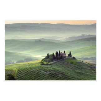Tuscan morning photo