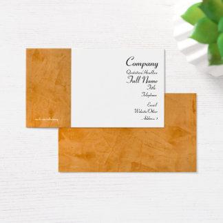 Tuscan Orange Business Cards 2.0